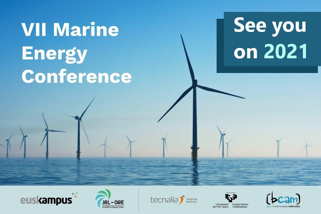 VII Marine Energy Conference postponed to June 2021