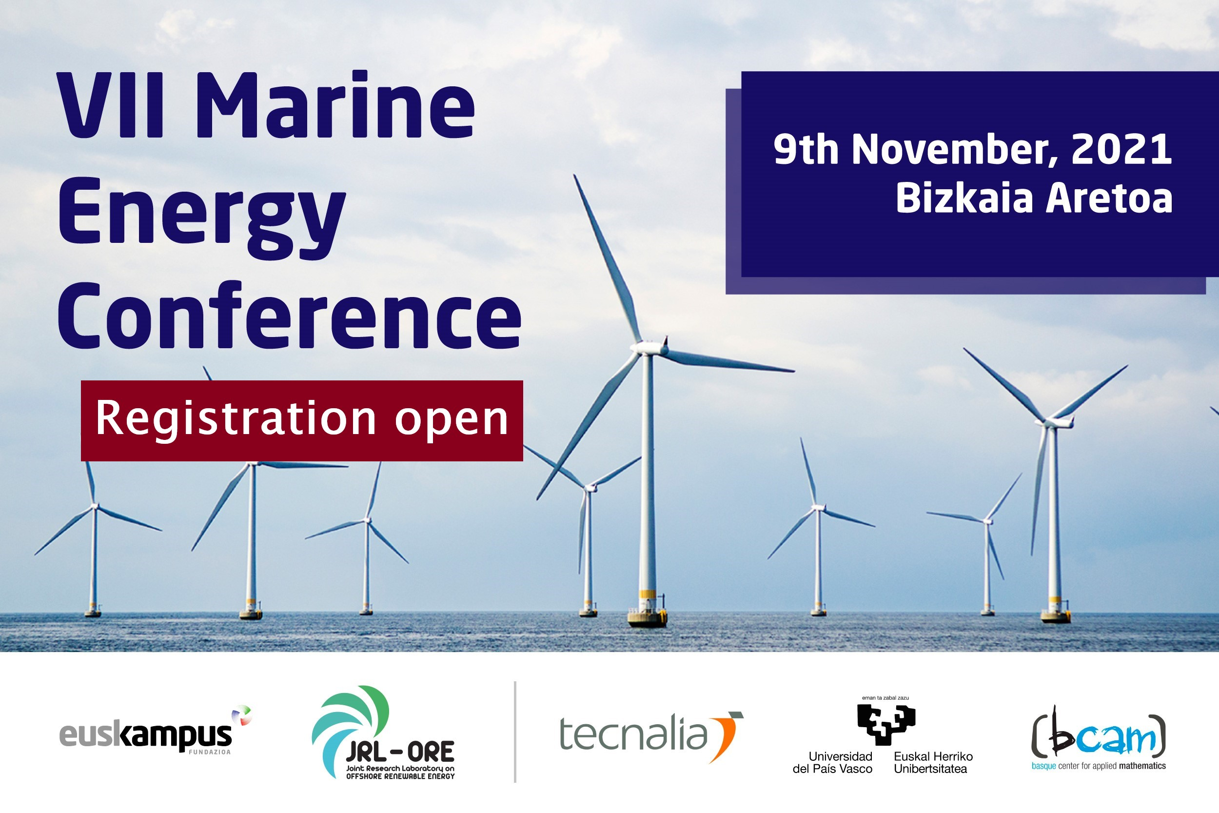 Registration for the VII Marine Energy Conference now open