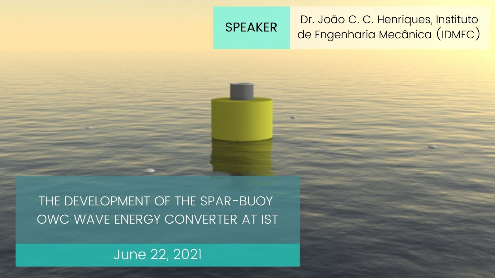 spar-buoy OWC wave energy converter